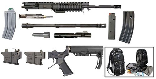 Windham Weaponry Multi-Caliber Rifle Kit AR Style 223Rem/22LR/9mm Steel