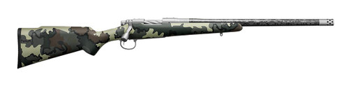 "Remington The Ultimate Sheep Rifle 6.5 Creedmoor 20"" Carbon Barrel, Brake, KUIU Camo, Custom Shop"