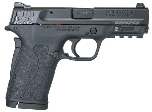 "Smith & Wesson M&P Shield EZ .380 ACP, 3.6"" Barrel, Black, No Thumb Safety, 8rd"