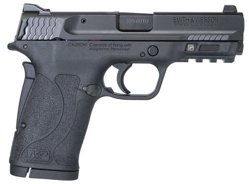 "Smith & Wesson M&P Shield EZ .380 ACP, 3.6"" Barrel, Black, No Thumb Safety, 8rd"