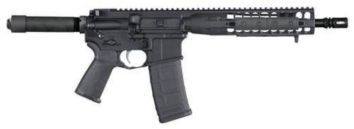 "LWRC Individual Carbine DI AR Pistol, .223/5.56, 10.5"", 30rd, Black Hard Coat Anodized"