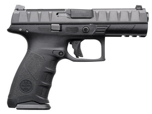 "Beretta APX RDO 9mm, 4.25"" Barrel, Black, 17rd"