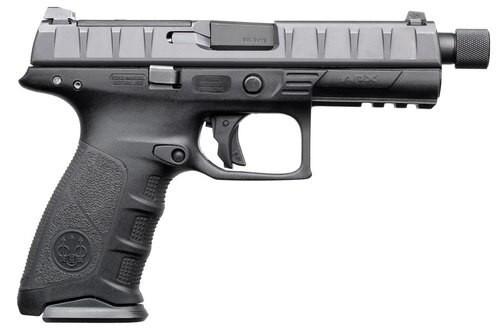 "Beretta APX SF Combat 9mm, 4.9"" Threaded Barrel, 10rd, Black"