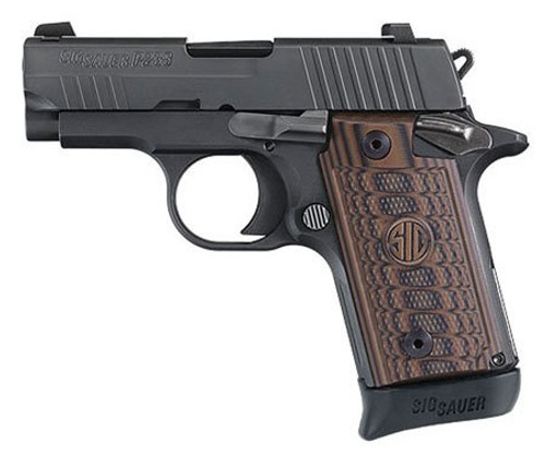 "Sig P238 Select, .380 ACP, 2.7"", 7rd, Siglite Night Sights, Black"