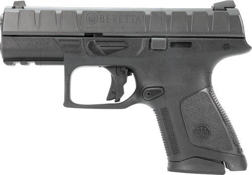 """Beretta APX Compact 9mm, 3.7"""" Barrel, Fixed Sights, Black, 13rd"""