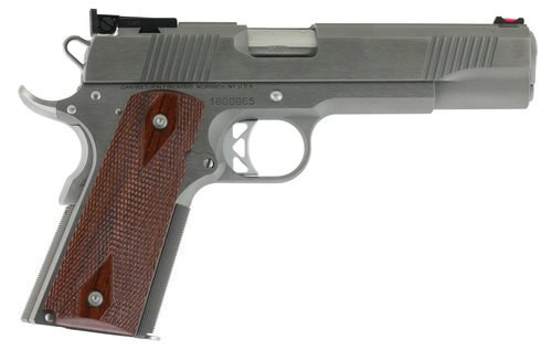 "Dan Wesson Pointman 1911, 45 ACP, 5"", 8rd, Cocobolo Grips, Stainless Steel"