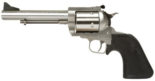 """Magnum Research BFR, .500 JRH ,5.5"""", Black Grip, Stainless Steel"""