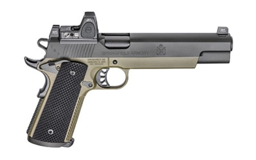 "Springfield 1911 TRP Operator, RMR Sight 10mm 6"" SS Barrel Long Slide Tritium Night Sights 8rd Mag"
