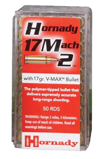 Hornady Varmint Express 17 Mach 2 15.5gr, Non-Toxic Lead-Free 50 Bx