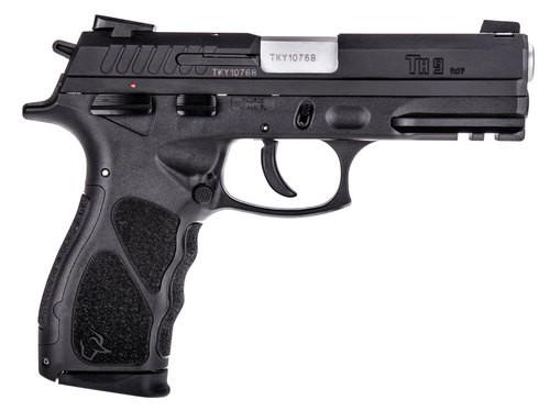 "Taurus TH9 9mm 4.25"" Barrel Novak Sights Black Textured Polymer Grips 17rd Mag"