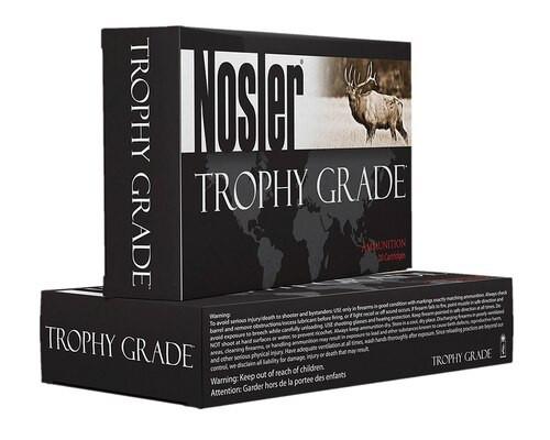 Nosler Trophy 9.3mmX62 Mauser 250GR AccuBond 20rd Box Brass