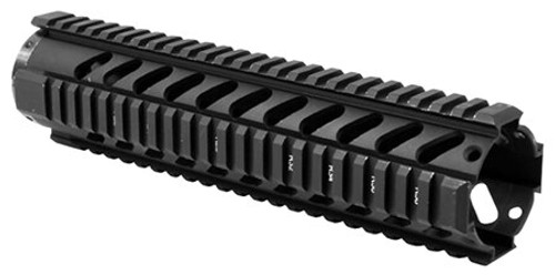 Aim Sports Free Float Quad Rail 10 inches Aluminum Black