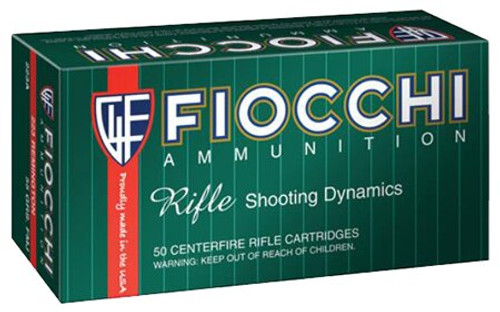 Fiocchi Rifle 25-06 Rem 117gr BTSP 117GR 20rd Box