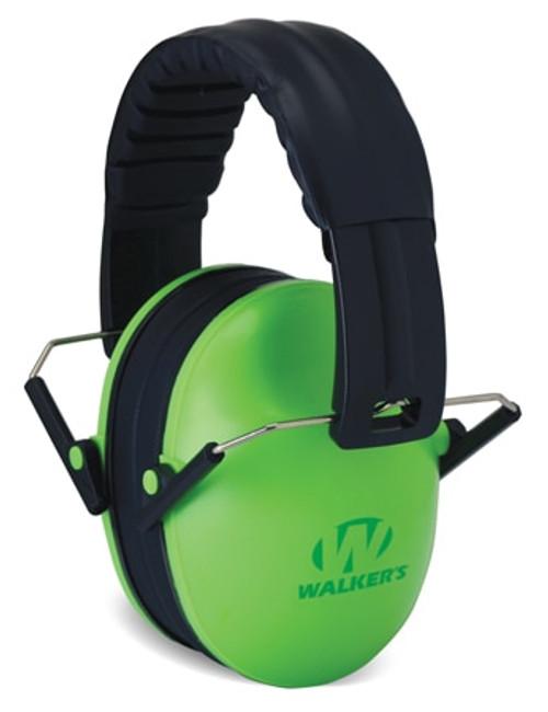 Walker's, Passive, Baby & Kids Hearing Protection, Earmuff, Lime Green