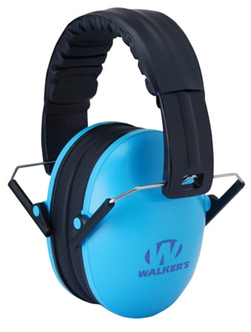 Walkers Game Ear Passive Baby & Kids Folding Earmuff 23 dB Blue