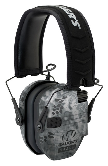 Walkers Game Ear Razor Slim Shooter Folding Earmuff 23 dB Kryptek Hi