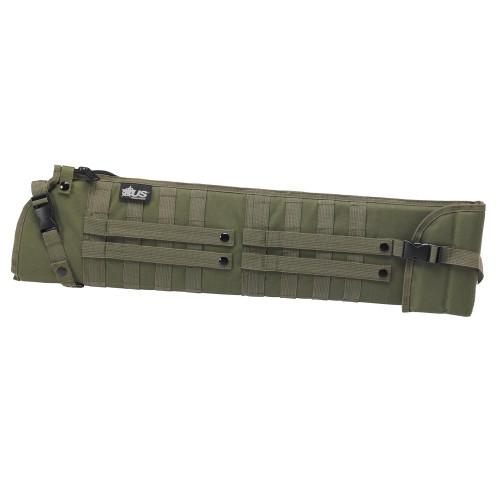 "US PeaceKeeper Shotgun Scabbard, OD Green 34.5"" x 7.5"""