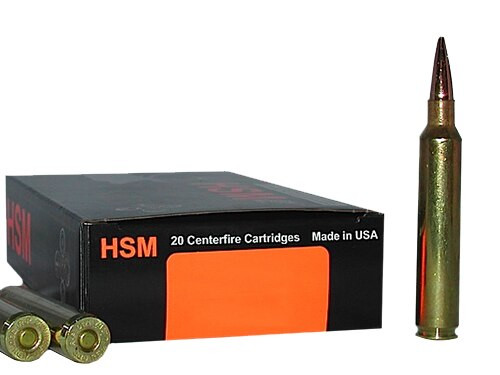 HSM Trophy Gold 6mm Rem 95gr BTHP 20 Bx/ 1 Cs