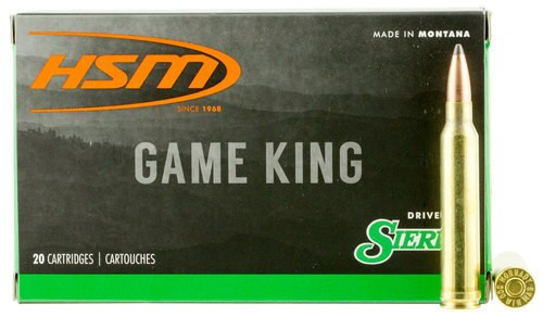 HSM Game King 300 Win Mag 180gr, SBT 20 Bx/ 20 Cs