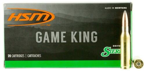 HSM Game King 7mm-08 Remington 140gr, SBT, 20rd Box