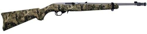 """Ruger 10/22 Takedown .22LR, Kryptek Highlander Camo, 18"""" SS Barrel, 25 Rd Mag & Case"""