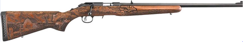 Ruger American Farmer 22WMR Bolt Action Blued/Synthetic, 9rd, TALO