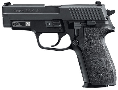 "Sig P229 Compact M11-A1 Single/Double 9mm 3.9"" Barrel, Black Polymer Grip Black Nitron Stainless Steel, 10rd"