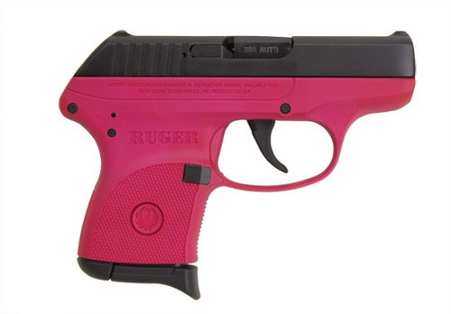 Ruger LCP .380 Ultra Compact Pistol, Raspberry