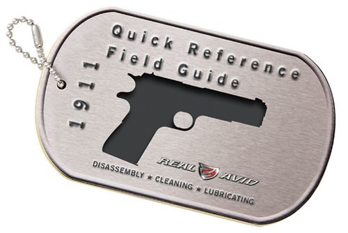 Real Avid/Revo 1911 Field Guide Booklet
