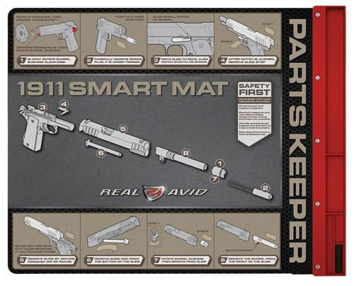 Real Avid/Revo 1911 Smart Cleaning Mat All Cal Pistol