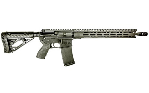 "Diamondback DB-15 AR-15 556/223, 16"" Barrel, Hex Mag Grip 15"" M-LOK Rail, 1 30rd PMAG"