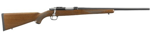 "Ruger 77/17WSM 20"" Barrel Walnut Stock 6rd Rotary Mag"