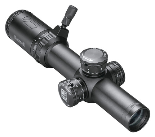 Bushnell AR Optics Riflescope 1-4x24mm 1st Focal Plane Illuminated BTR-300 Reticle 30mm Matte Black