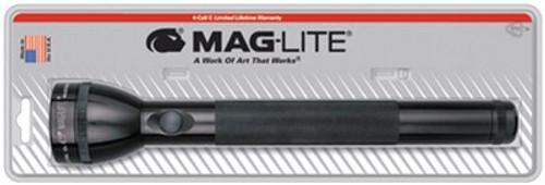Maglite Incandescent 4C Alkaline Blister Pkg Black