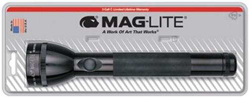Maglite Incandescent 3C Alkaline Blister Pkg Black