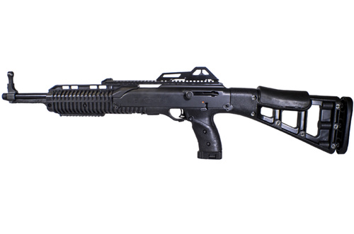 "Hi-Point Carbine 10mm, 17.5"" Barrel, Black, Skeletonized Target Stock, Adjustable Sights, 10rd"