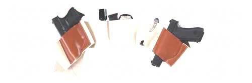 Galco Underwraps Belly Band Universal Khaki Large Tan Elastic/Nylon