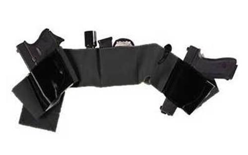 Galco Underwraps Belly Band Universal Black Large Black Elastic/Nylon