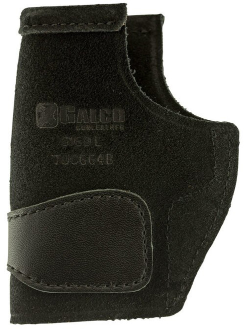 Galco TUCK-N-GO 2.0 Strongside/Crossdraw Inside Waistband Holster, Fits Sig P250 Compact 9/40, P320C 9/40, Ambidextrous, Black Leather