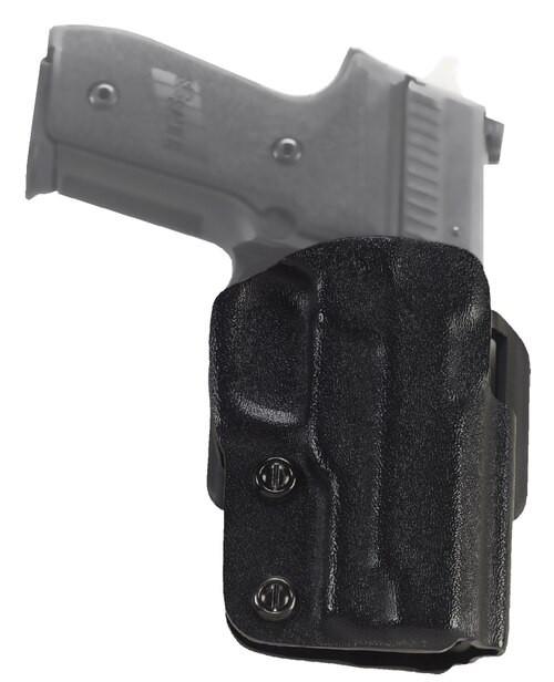 Galco Stryker SiG P220/220 rail/226/226 rail/226 rail bobbed hammer, Brown. BDA 45, Black, RH