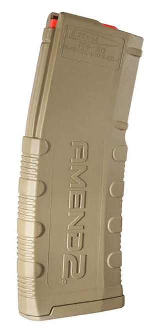 Amend2, Magazine, 223 Rem/556NATO, 30 Rounds, Fits AR Rifles, Polymer, Flat Dark Earth