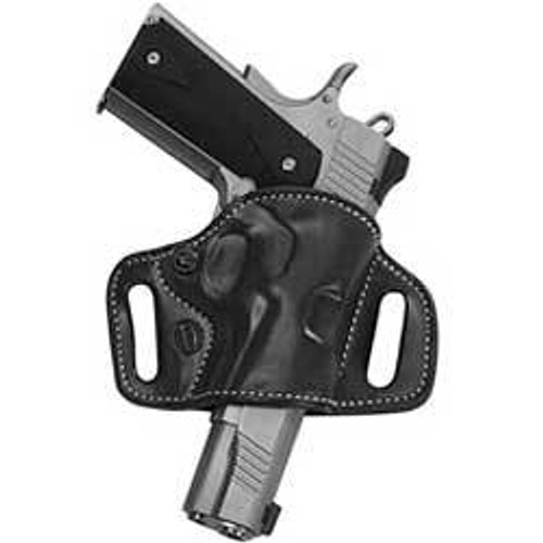 El Paso Saddlery High Slide 1911 Full Size/Compact Leather Black