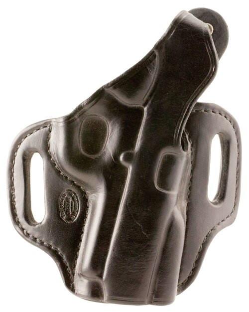 """El Paso Saddlery Strong Side Select 1911 3.5"""" Barrel Leather Black"""