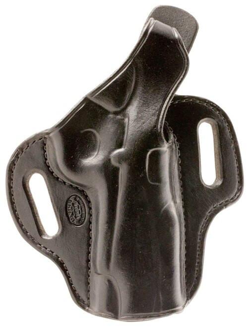 """El Paso Saddlery Strong Side Select 1911 4"""" Barrel Leather Black"""
