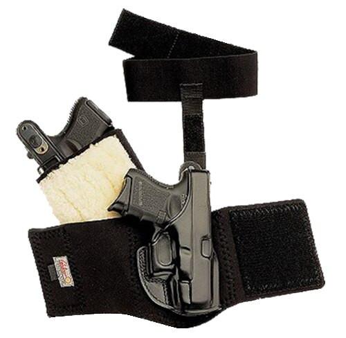 "Galco Ankle Glove 1911 3"", Black, RH"