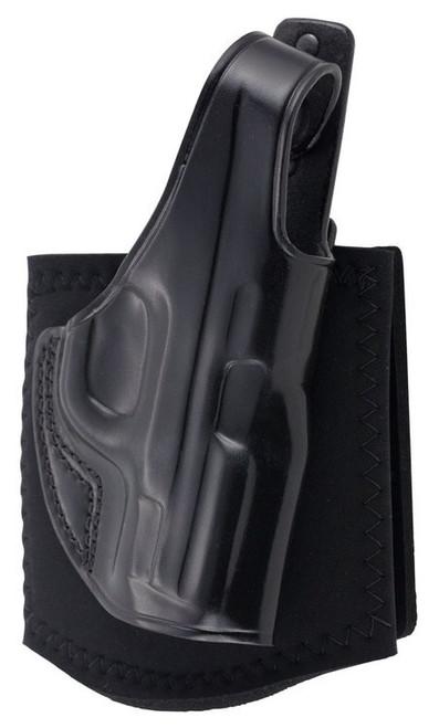 Galco Ankle Glove S&W M&P Shield 9/40/45, 2.0 9/40, Black, RH