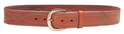 """Galco Belt Fancy Stitched 38"""" 1.75"""" Wide Leather Tan"""