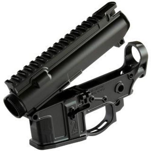2A Armament BALIOS-LITE Receiver Set, 5.56mm, Black, 7075-T6 Billet, 2A-MCRS-4