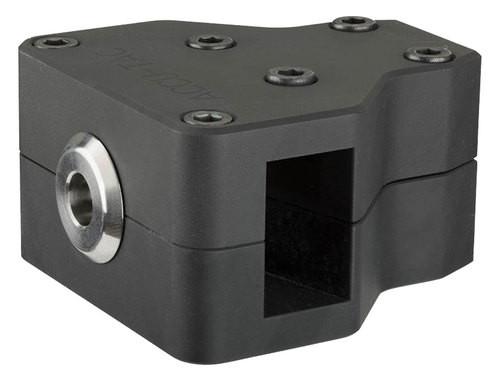 "Accu-Tac Hammer Recoil Brake 308Win/7.62mm/300Win/30-06 Spring 2.75"" L x 2.5"" W x 1.5"" H 5/8x24 tpi Aluminum Black Hardcoat Anodized"
