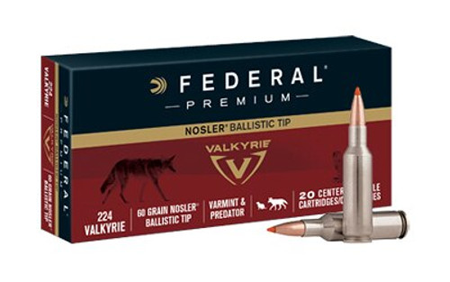 FEDERAL 224 VALKYRIE 60 NOS BT 20 RD BOX
